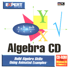 [Expert's Algebra CD Product Package]